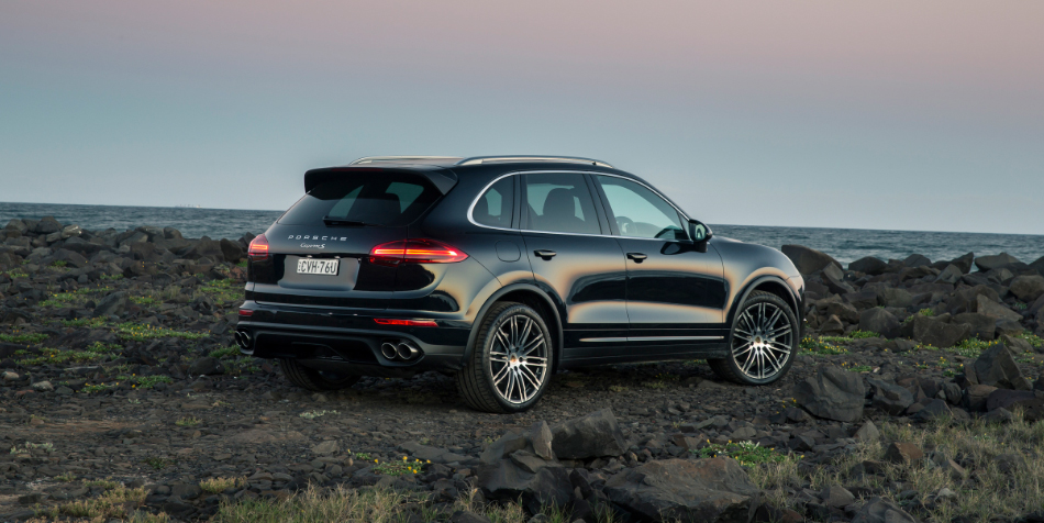The new look porsche cayenne woman with drive