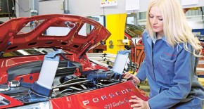Jana Ingel Is Porsche's Forewoman In Germany