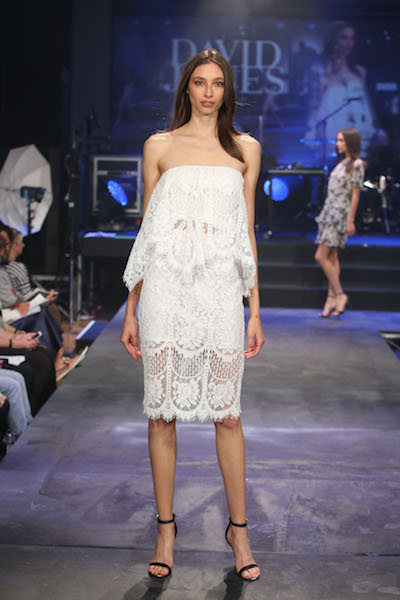 David Jones Spring/Summer White Lover Lace Dress