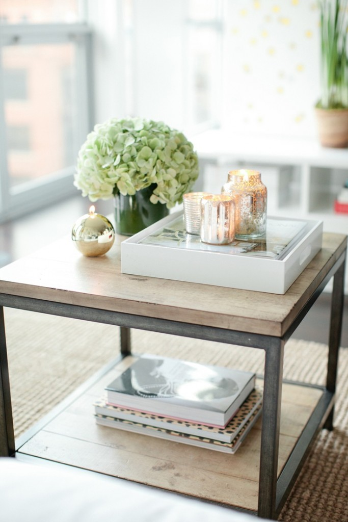 Add small touches of style to your living room