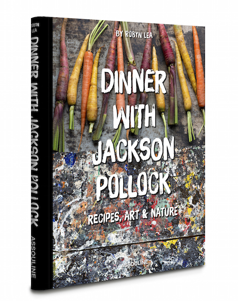 Dinner with Jackson Pollock by Robyn Lea