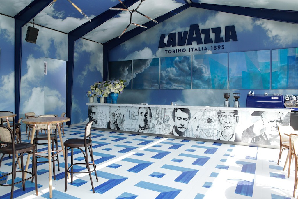 Lavazza Birdcage Marquee at Melbourne Spring Racing Carnival