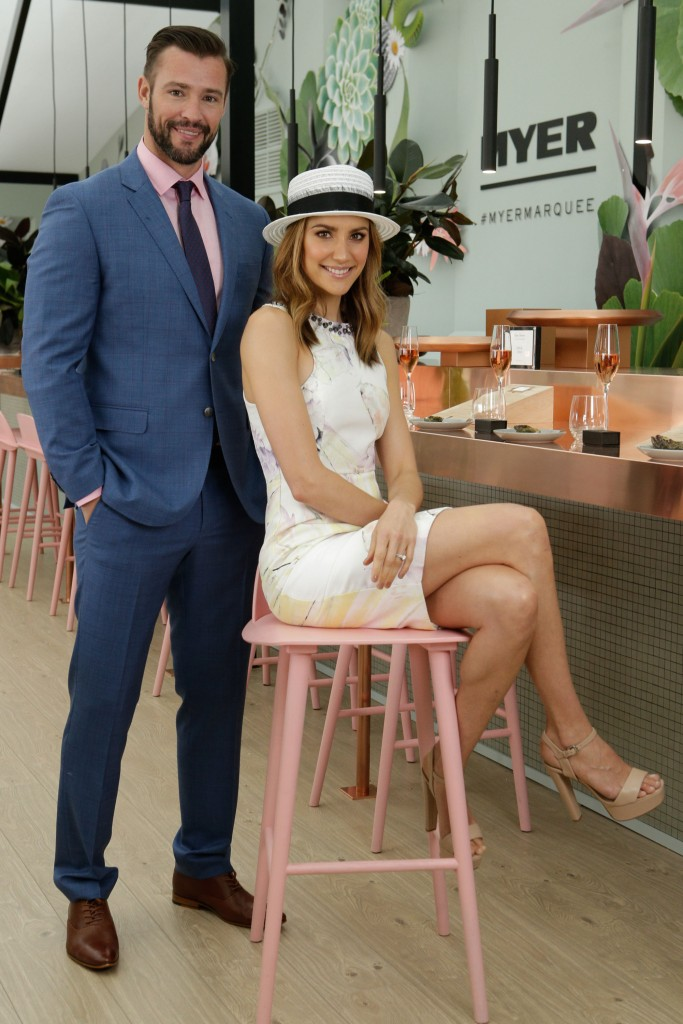 Myer Birdcage Marquee at Melbourne Spring Racing Carnival