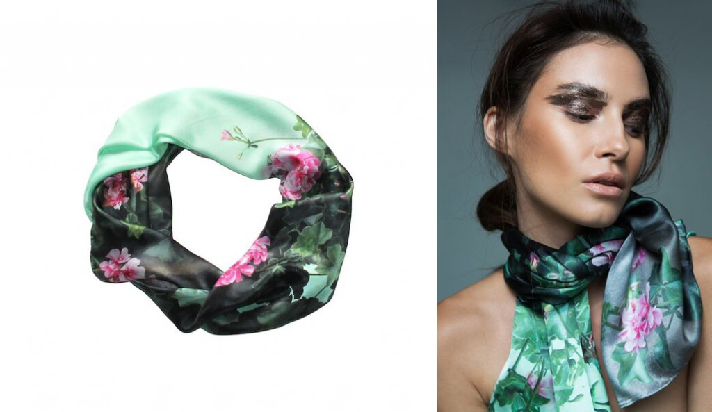 Tea and Flowers Scarf by Take Me To New York