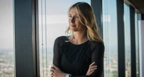 woman with drive interview with Maria Sharapova