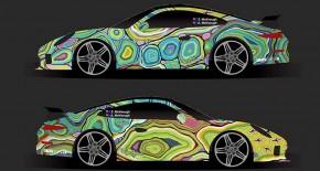 Pop Art Porsches