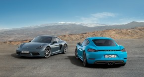 718 Cayman and Cayman S