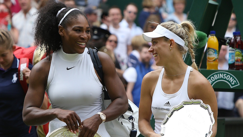 Angelique Kerber Serena Williams Wimbledon 2016