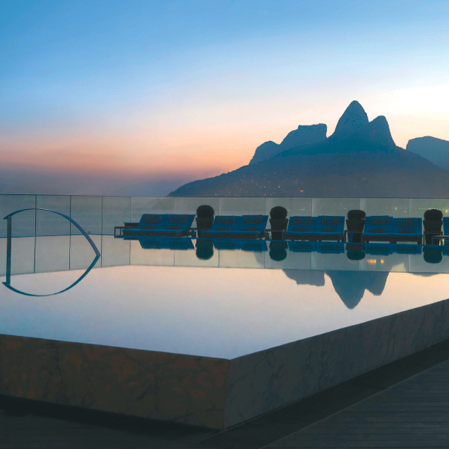 In The Lap Of Luxury At Rio de Janeiro